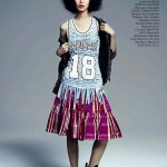 Jing Ma In Glamour Italia 2013 June