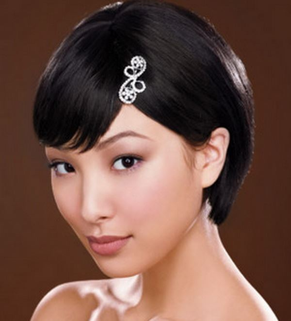 Short Hairstyles For Wedding Bride: She12: Girls Beauty Salon