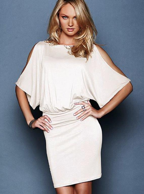 Short White Shirts From Victoria Secret