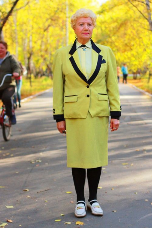 Old Women Street Style 2014 from Russia 11 | She12: Girls