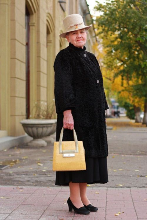 Old Women Street Style 2014 From Russia 12 She12 Girls