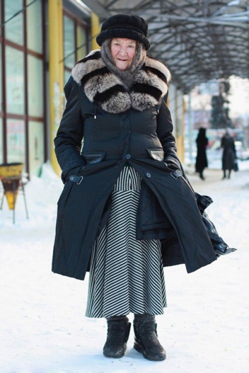 Old Women Street Style 2014 from Russia 16 | She12: Girls