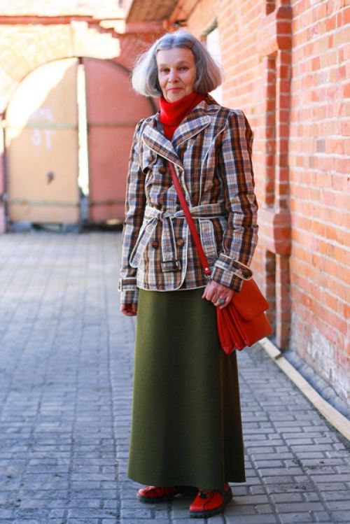 Old Women Street Style 2014 from Russia 2 She12 Girls