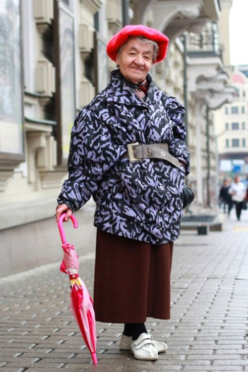 Old Women Street Style 2014 From Russia 3 She12 Girls Beauty Salon