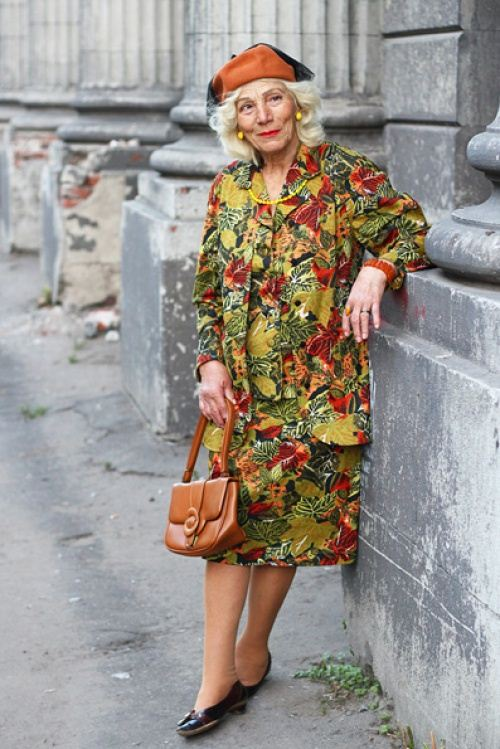Old Women Street Style 2014 From Russia 8 She12 Girls