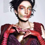 Janice Alida by Richard Burbridge for Harper's Bazaar US March 3