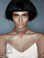 Beauty by Suresh Natarajan for Elle India April 2014