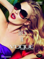 Vogue Summer Colorful Sunglasses For Girls