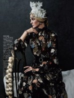 Caroline Trentini In Royal Style At Vogue Japan