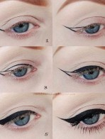 Apply Eyeliner In Different Style