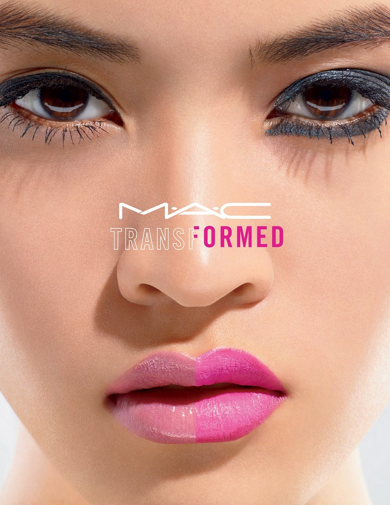 Ad Campaign: M.A.C. Cosmetics, Transformed Collection, Summer 2016. Photographer: Miles Aldridge Makeup: Val Garland
