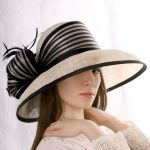 Eyelet Brim Straw Fedora Summer Girls Hats