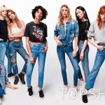 Jing Wen For Toptshop Jeans For Girls