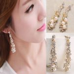 High Price Pearl Dangles Chandelier Earrings