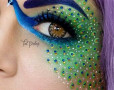 Glittery Makeup By Artist - Add Shimmer In Life